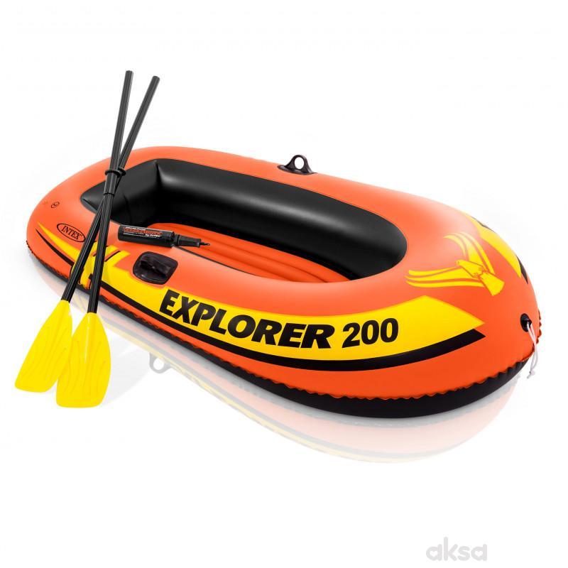 Intex čamac Explorer 200 set