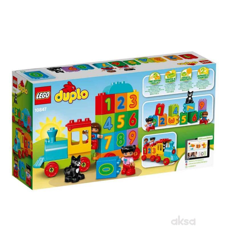 LEGO DUPLO NUMBER TRAIN