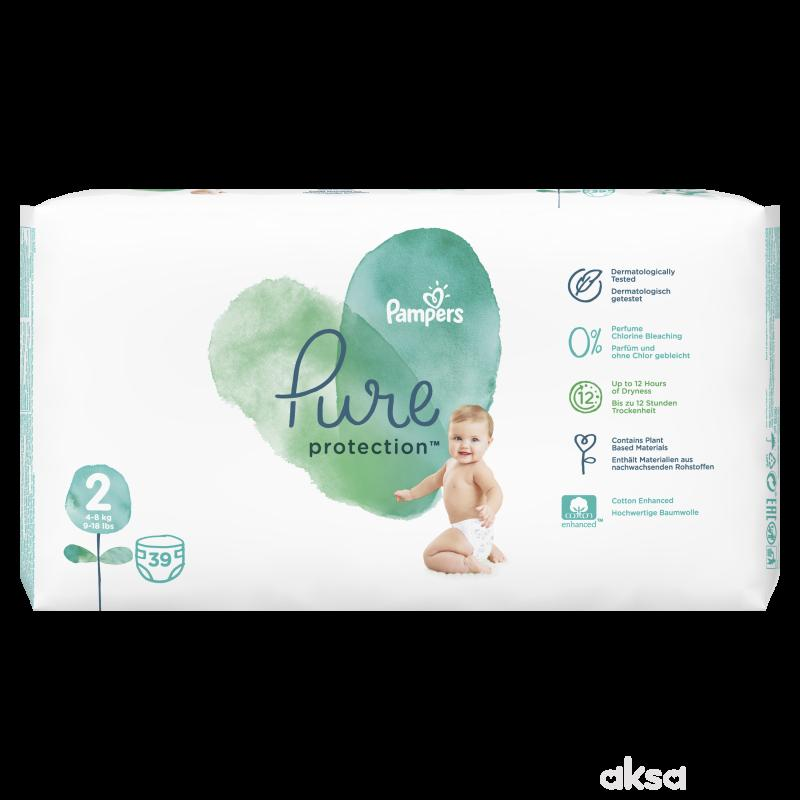 Pampers pure VP 2 mini 4-8 kg 39kom
