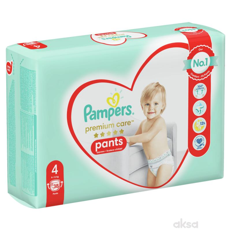 Pampers pants premium VP 4 maxi 8-14kg 38kom