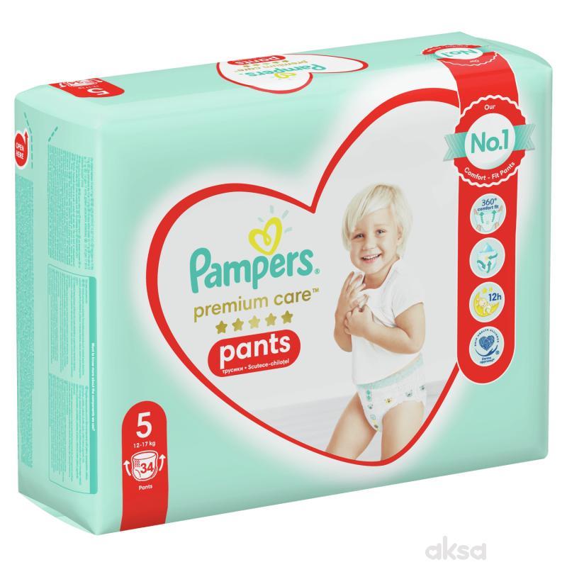 Pampers pants premium VP 5 junior 11-18kg 34kom