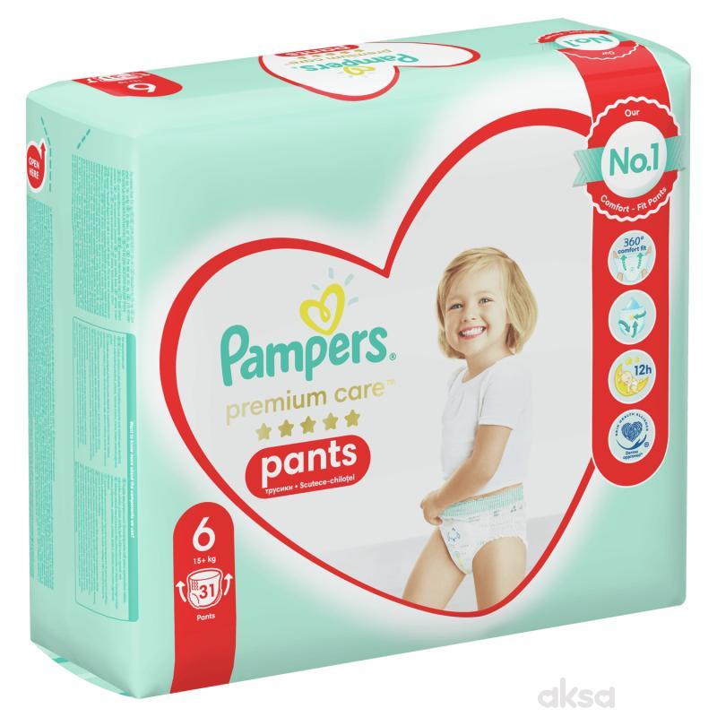 Pampers pants premium VP 6 extra large 15+kg 31kom