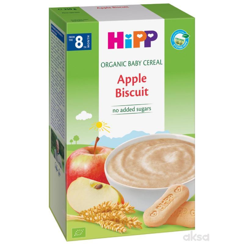Hipp mlečna instant kaša jabuka i keks 250g
