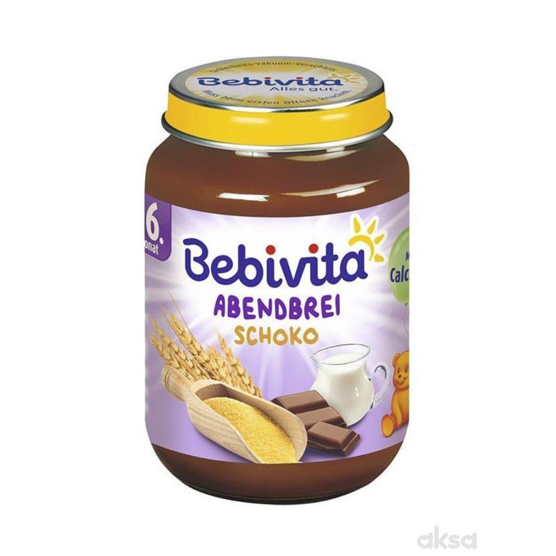 Bebivita ml. kašica za l.noć griz i čokolada 190g