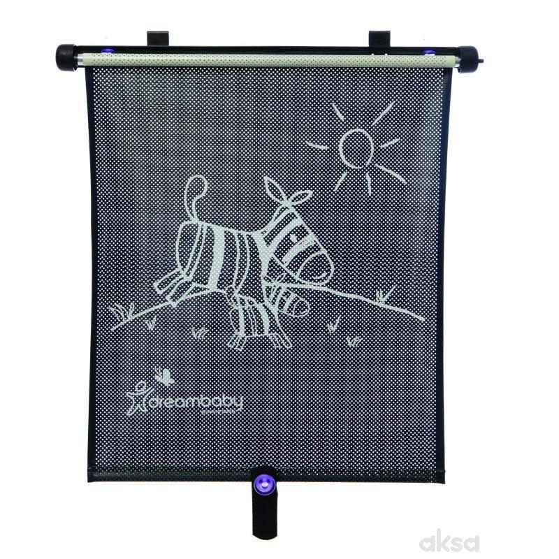 Dream baby zaštita od sunca roll up, zebra