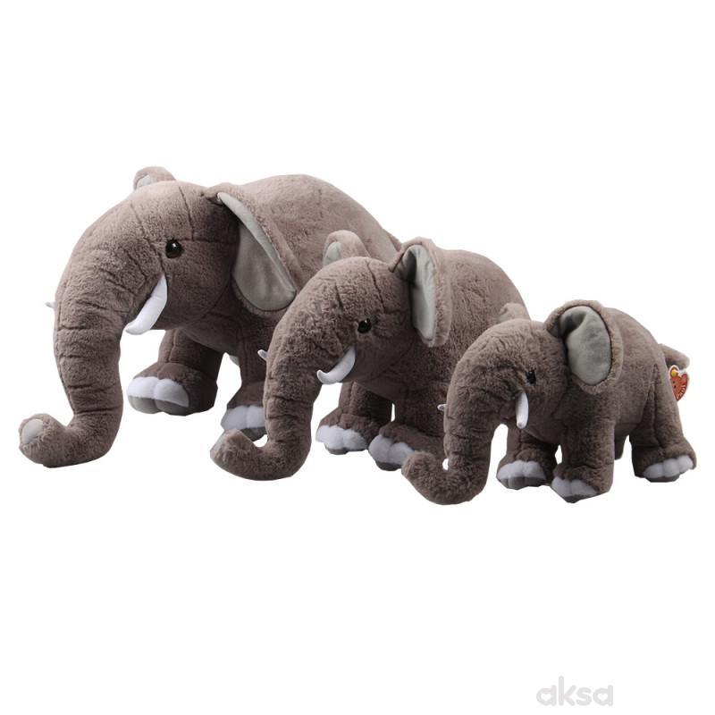 Paul plišana igračka slon, 30cm