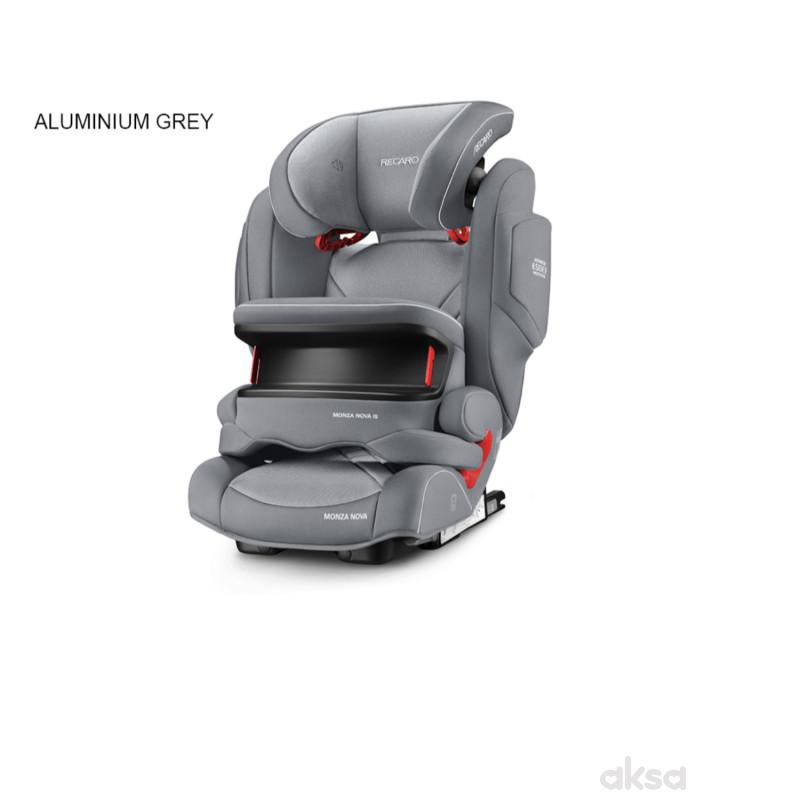 Recaro a-s Monza Nova IS 1/2/3 (9-36kg), alum grey