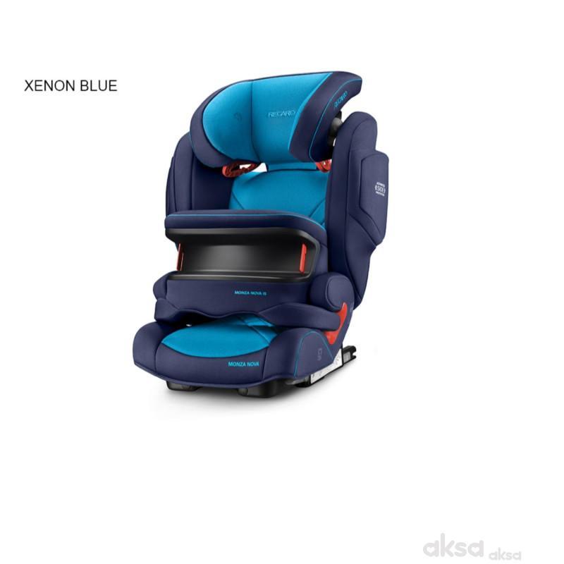 Recaro a-s Monza Nova IS 1/2/3 (9-36kg),xenon blue