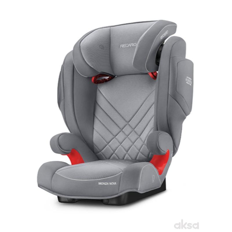 Recaro a-s (15-36kg)MonzaNova2 seat fix, alum grey