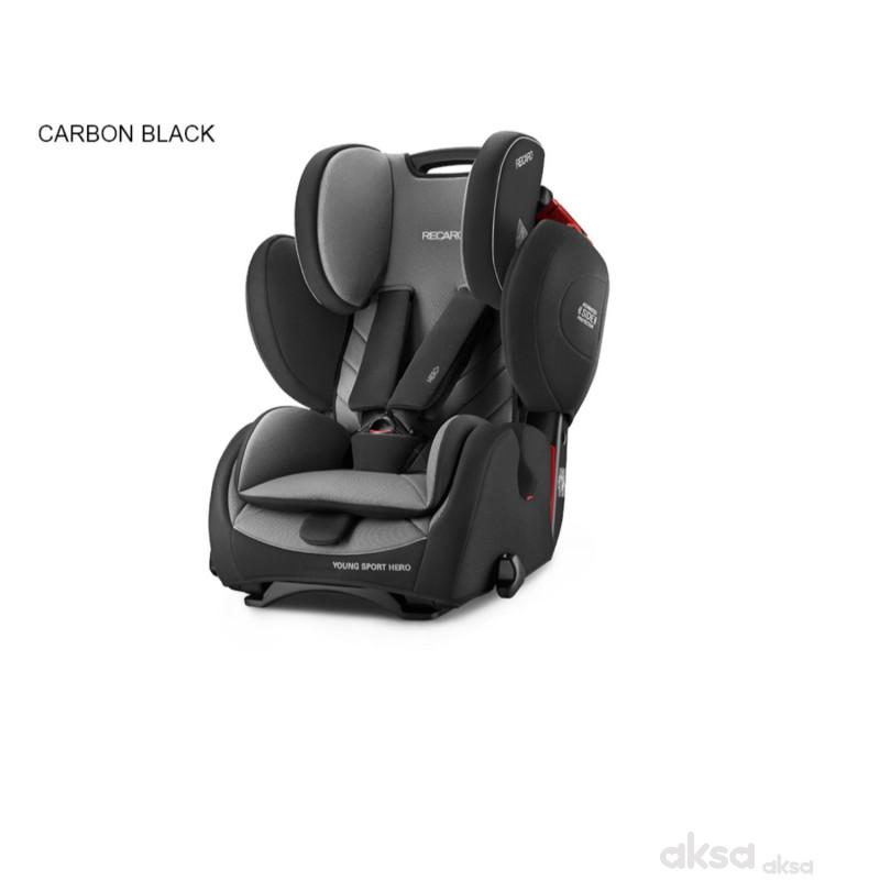 Recaro a-s 1/2/3 (9-36kg)YoungSportHero black