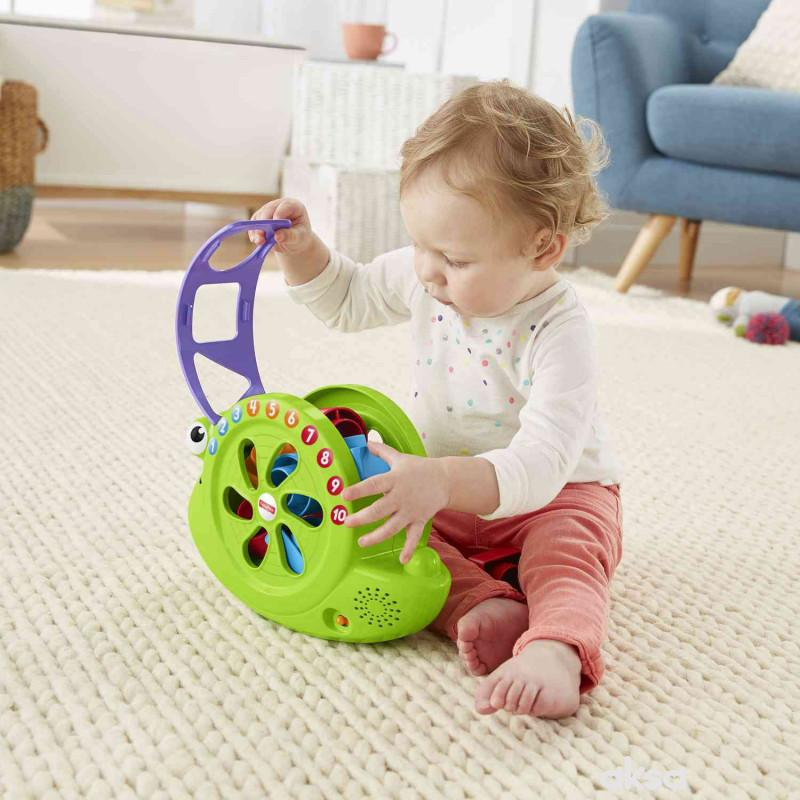 Fisher-price muzicki interaktivni puz sa kockama