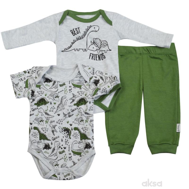Lillo&Pippo bebi komplet 3/1,dečaci