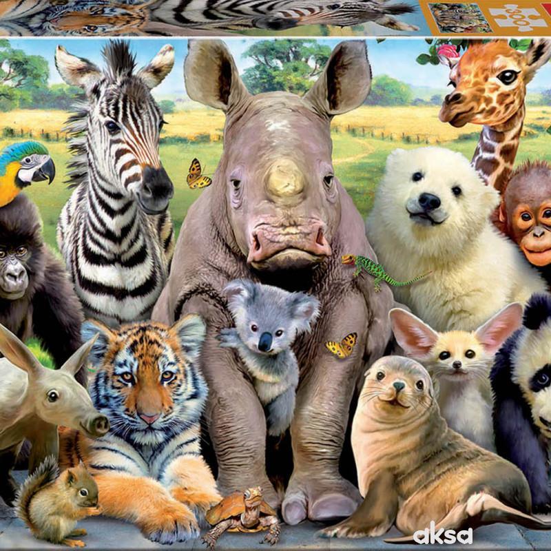 Educa slagalica životinje 300 delova