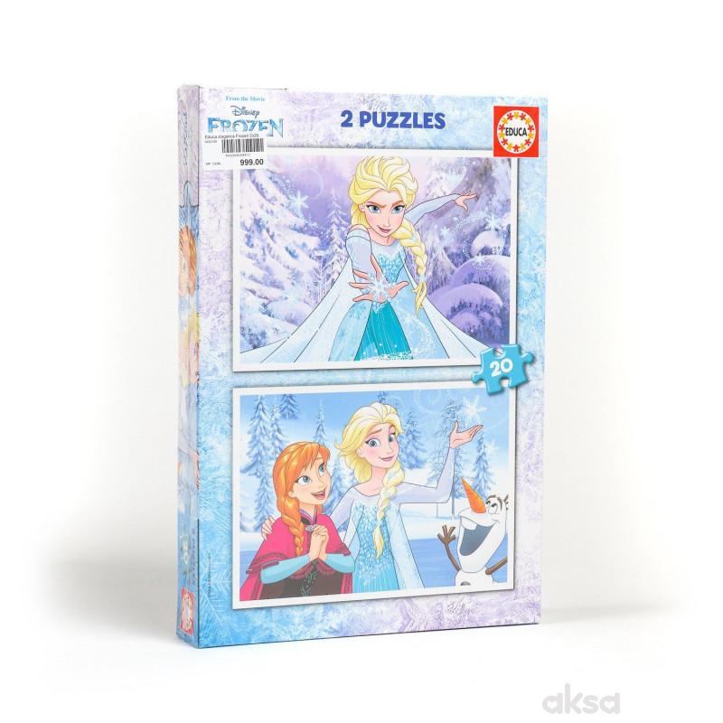 Educa slagalica Frozen 2x20 delova