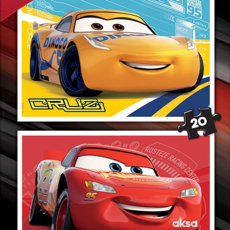 Educa slagalica Cars 2x20 delova