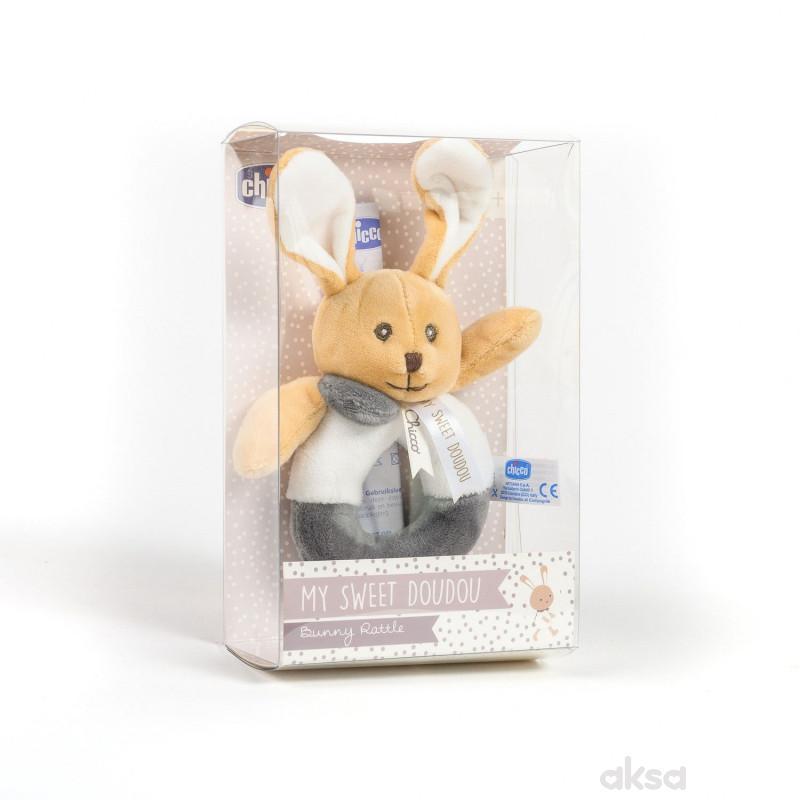 Chicco igračka zvečka zeka
