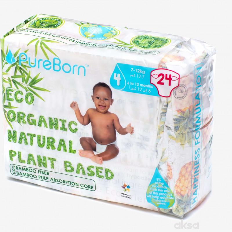 Pure Born pelene 4 Single pack 7-12kg 24kom