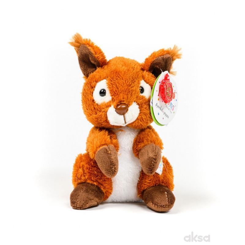 Keel Toys plišana igračka Pippins Veverica 14 cm