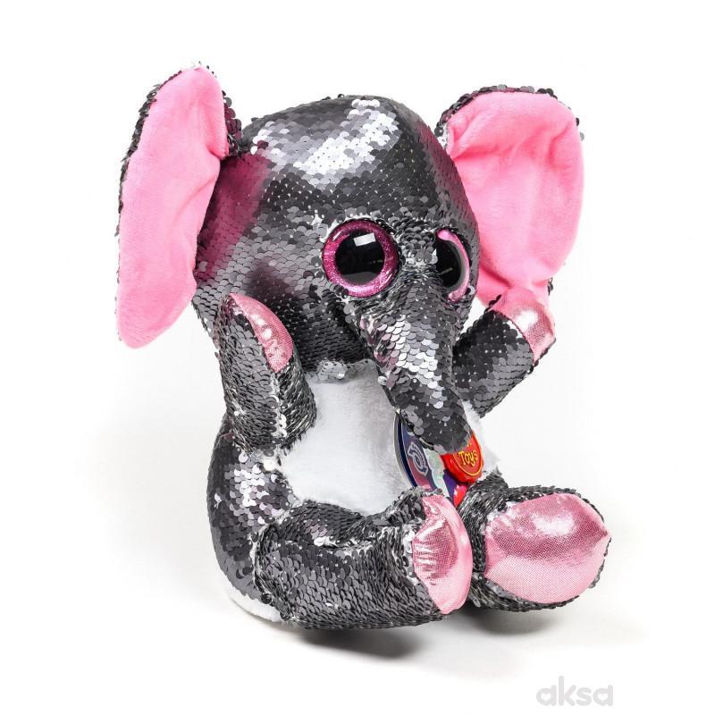 Keel Toys plišana igračka Glitter as, 30 cm