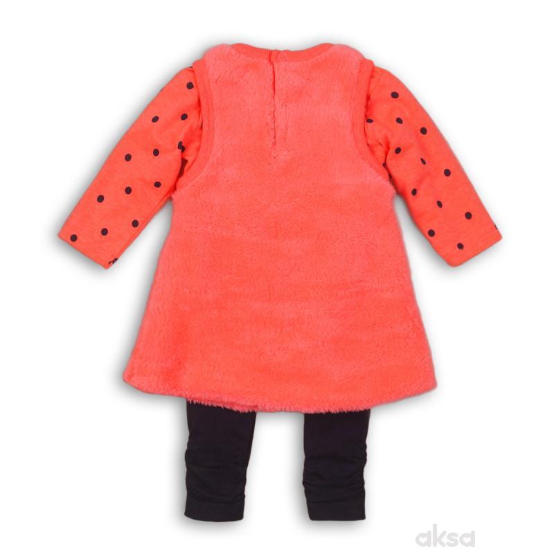 Dirkje komplet(haljina,majica dr i helanke),devojč