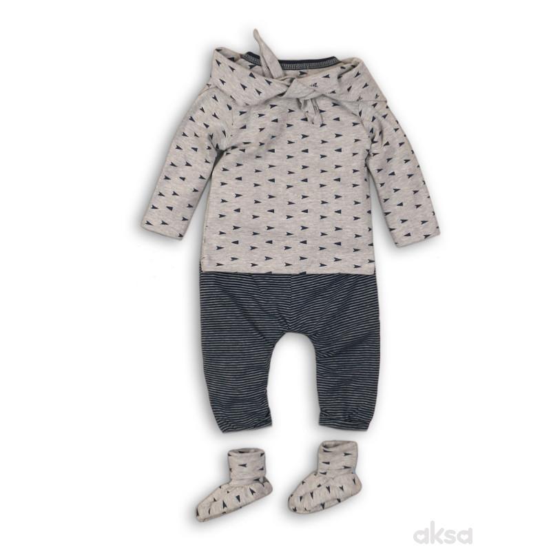 Dirkje kompl(majica dr,donji d,popke i marama),deč