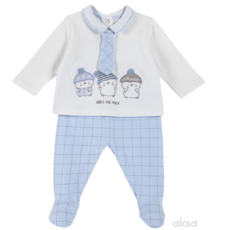 Chicco komplet(majica d.r. i donji deo),dečaci