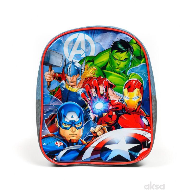 Kids Licensing, predškolski ranac, 29cm, Avengers