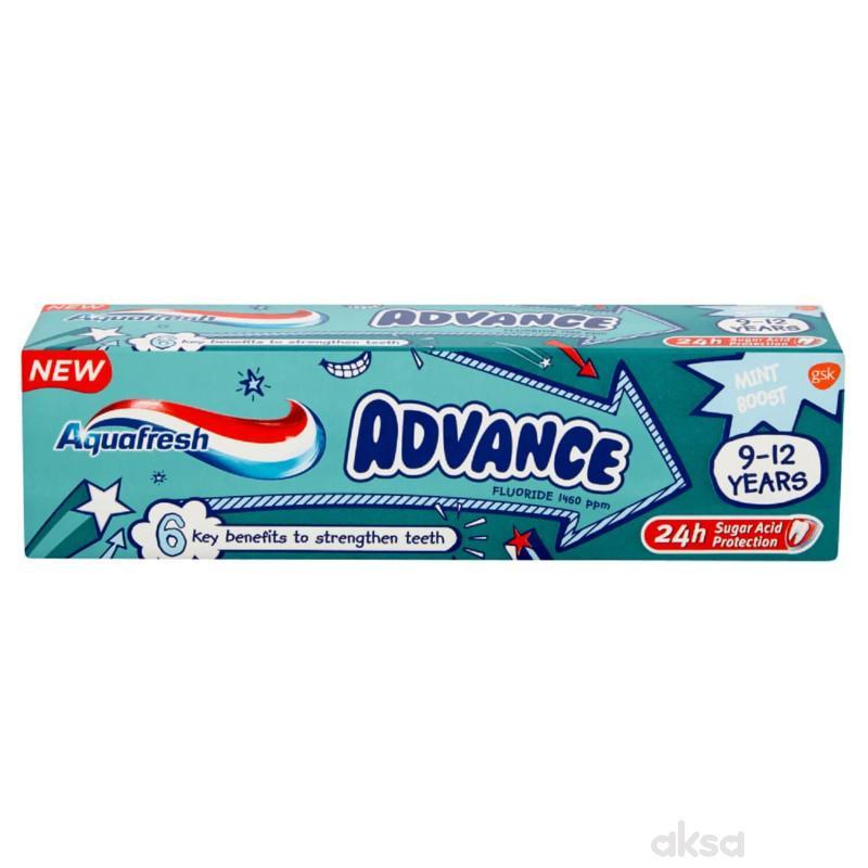 Aquafresh pasta za zube 9-12g+  50ml
