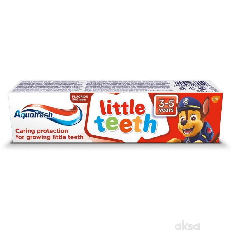 Aquafresh pasta za zube 3-5g+  50ml