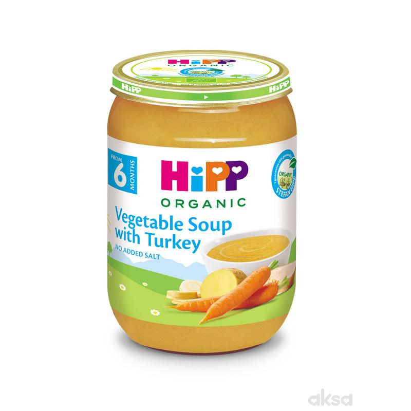Hipp kašica BIO supa od povrća sa ćuretinom 190g