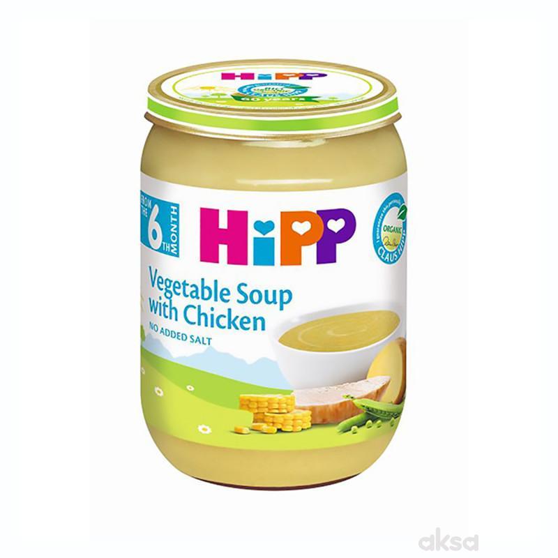 Hipp kašica BIO Supa od povrća sa piletinom 190g
