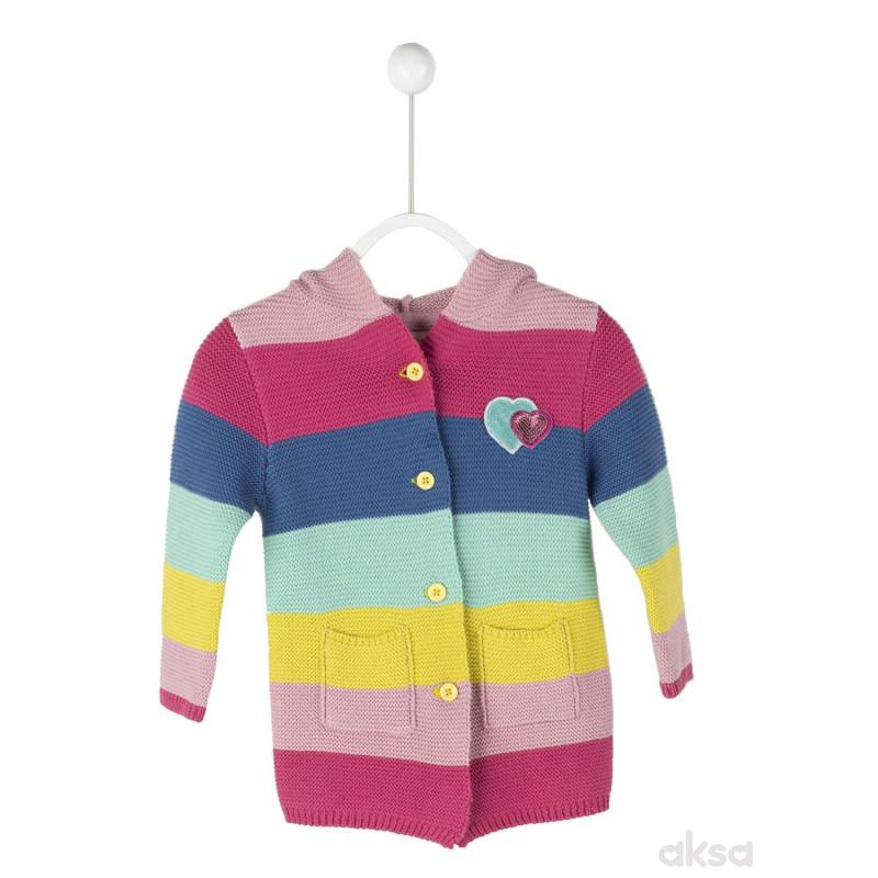 SilverSun džemper sa kapuljačom,devojčice