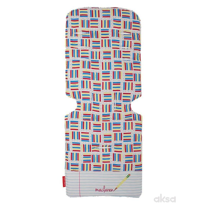 Maclaren univezalni uložak za kolica Notebook bela