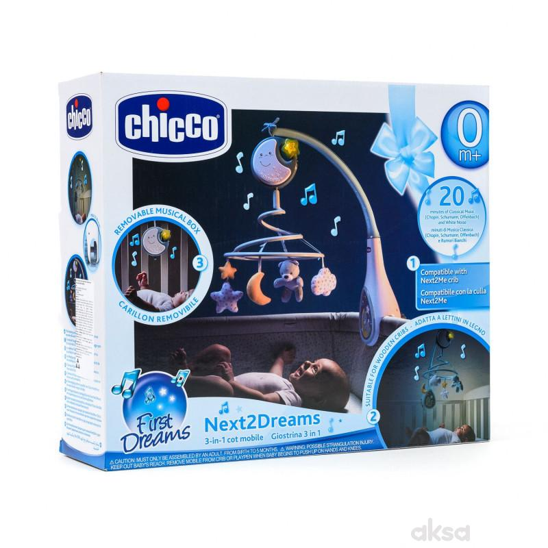 Chicco Next2Dreams vrteska plava