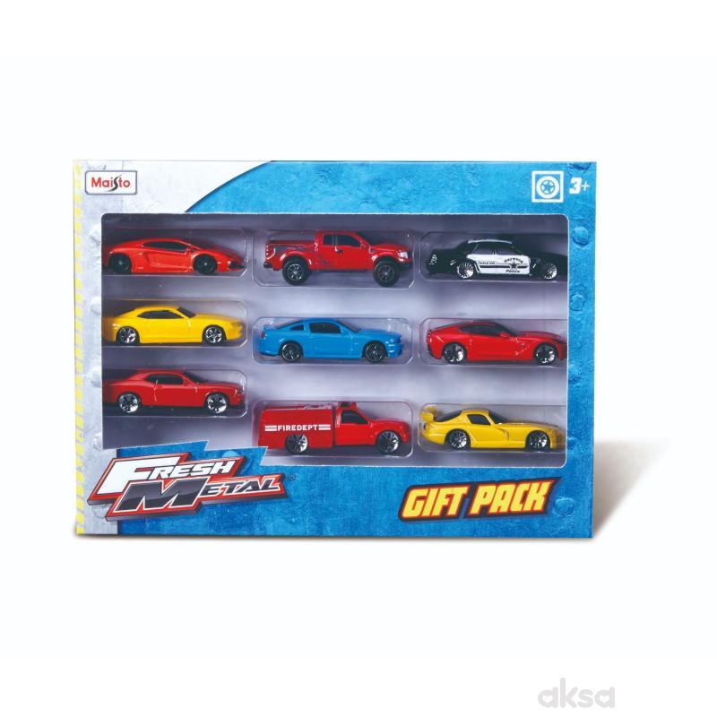 Maisto igračka automobil FM 9kom