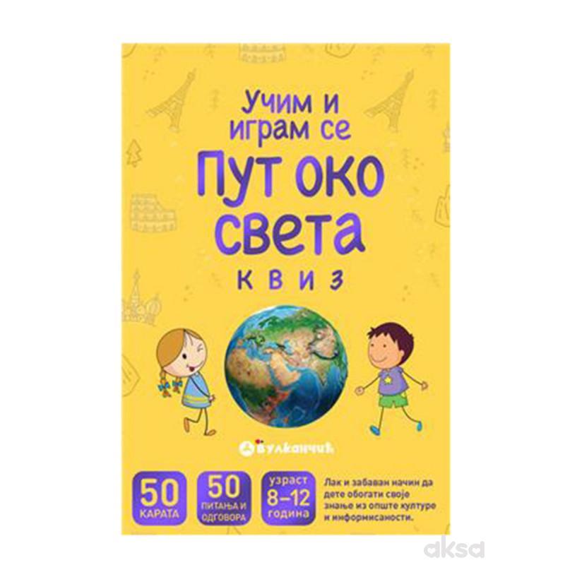 Vulkancic Karte - Put Oko Sveta: Kviz