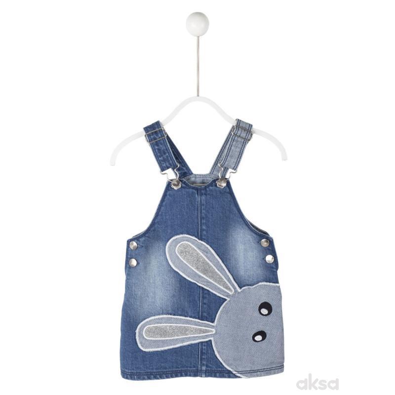 SilverSun teksas haljina,devojčice