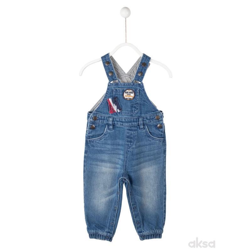 SilverSun teksas pantalone na tregere,dečaci