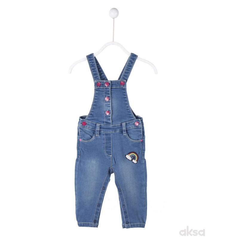 SilverSun teksas pantalone na tregere,devojčice
