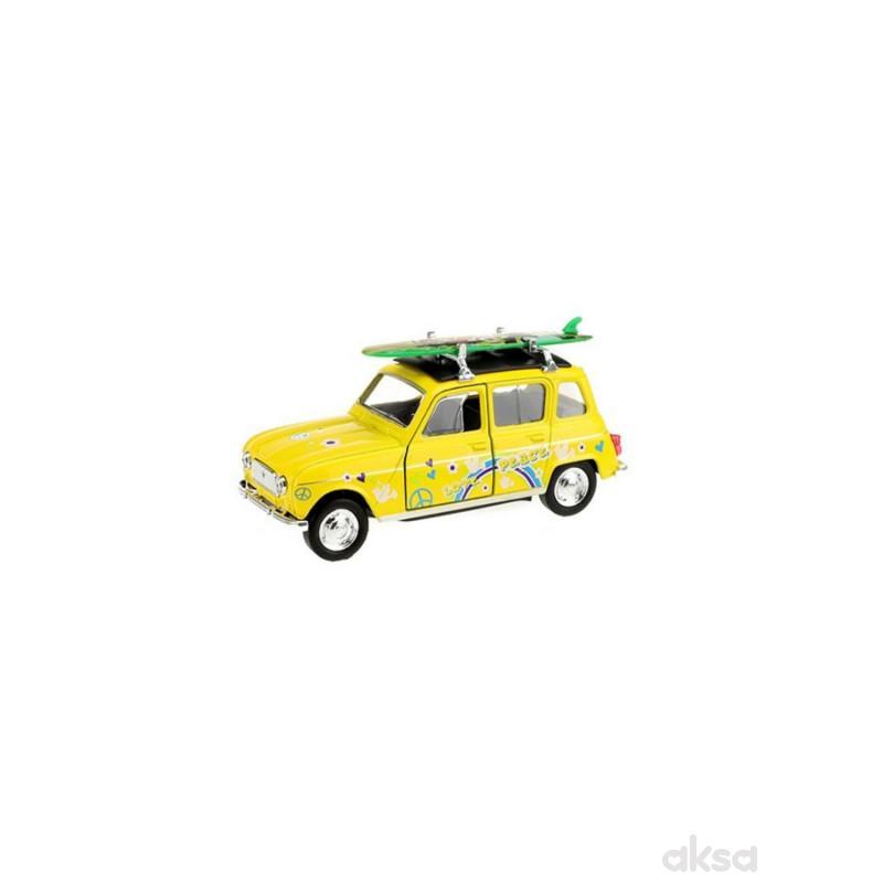 Welly Metalni Auto Renault 4 Surfboard