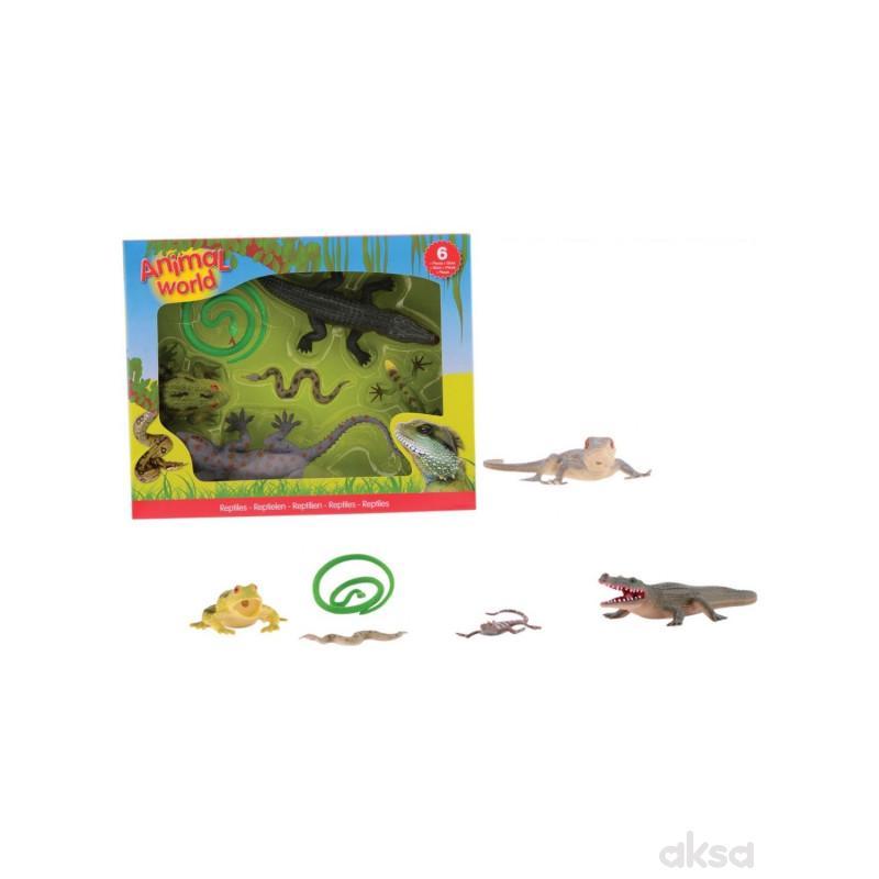 Animal World Zivotinje Reptili u Kutiji