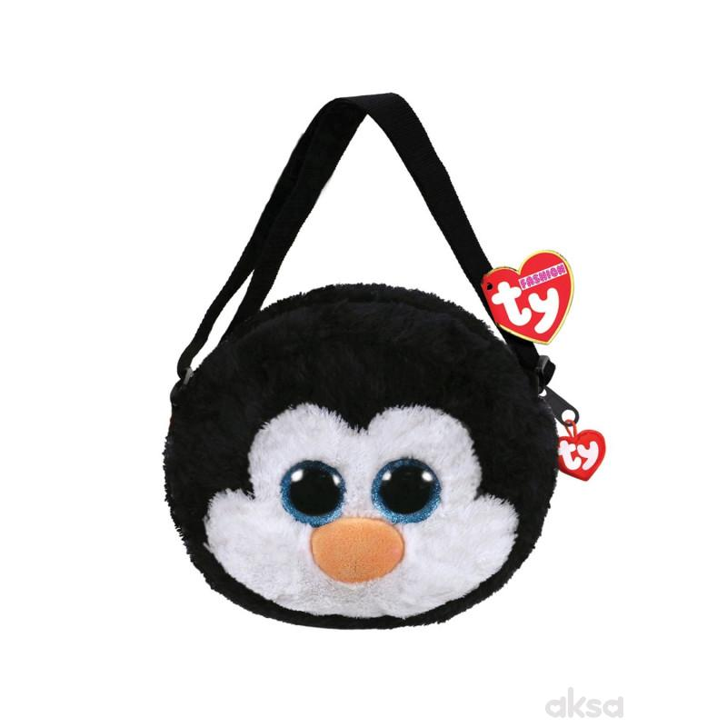 Ty Plisana Torba Pingvin Waddles 18X16X9cm