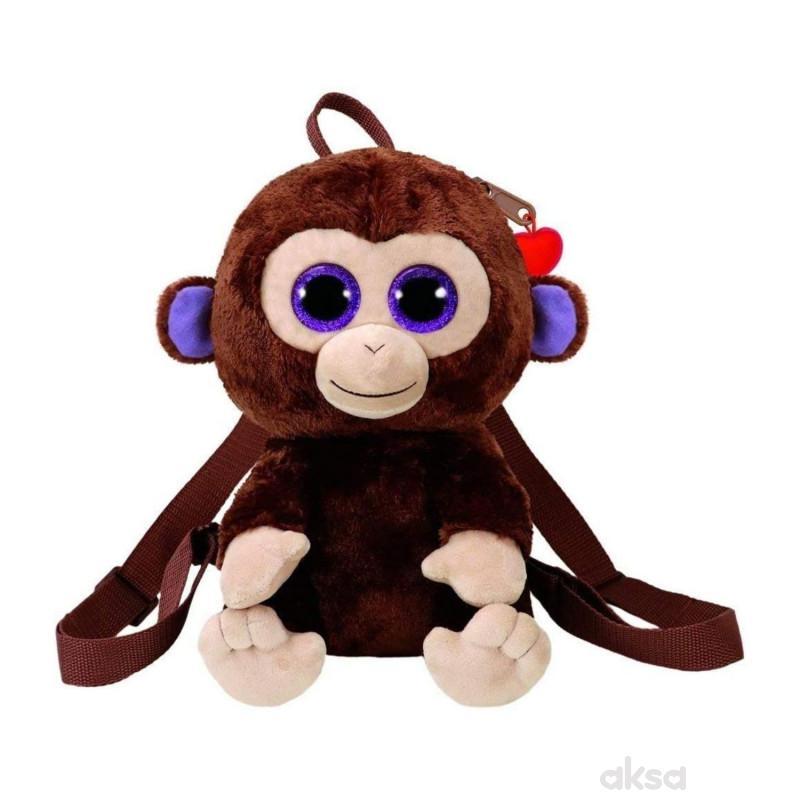 Ty Plisani Ranac Majmun Coconut 26X18X11cm