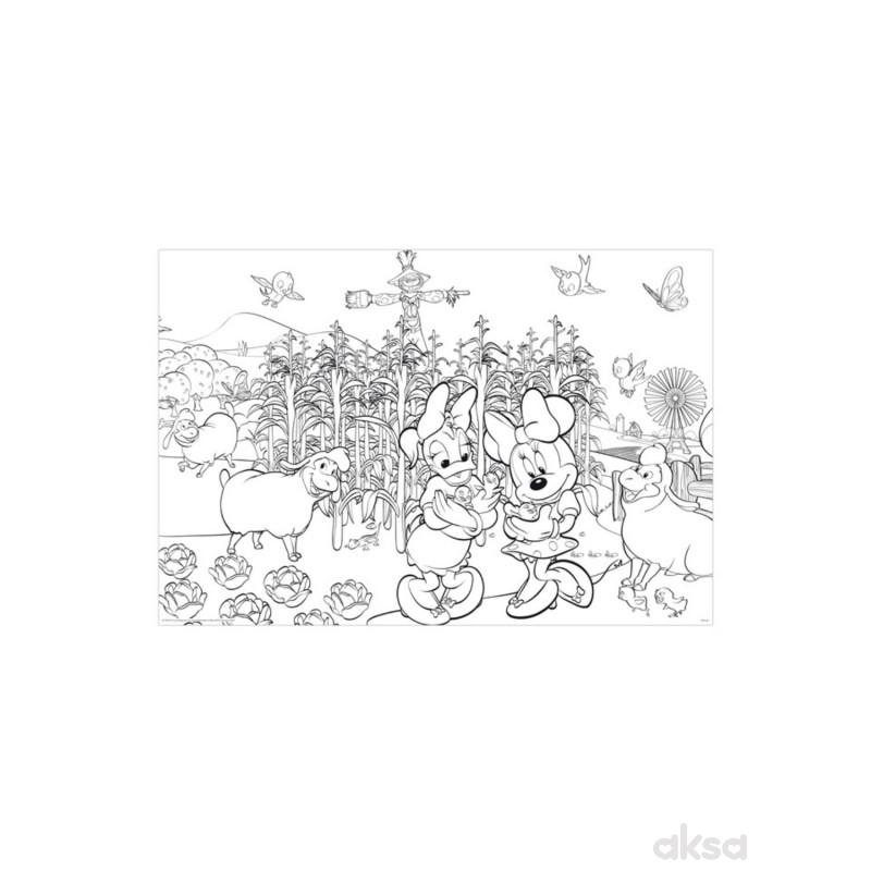 Lisciani slag 108Pcs Minnie 2u1 Slozi i Oboji