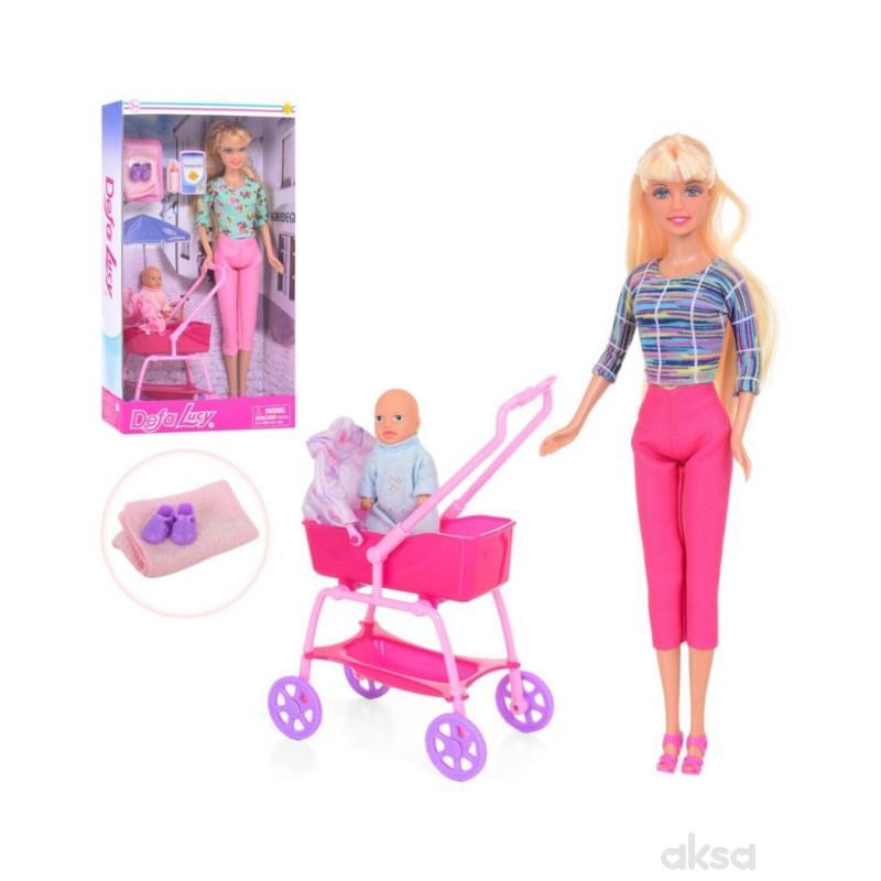Defa Lutka Sa Bebom u Kolicima