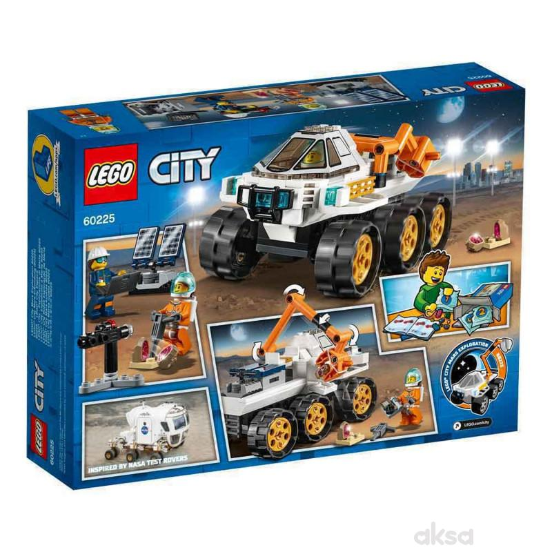 Lego City Rover Testing Drive