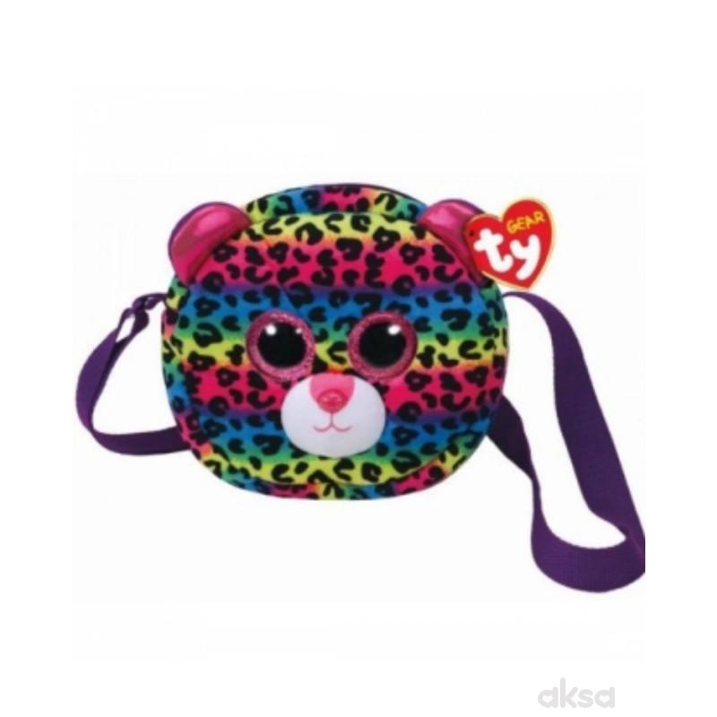 Ty Plisana torba Leopard Dotty