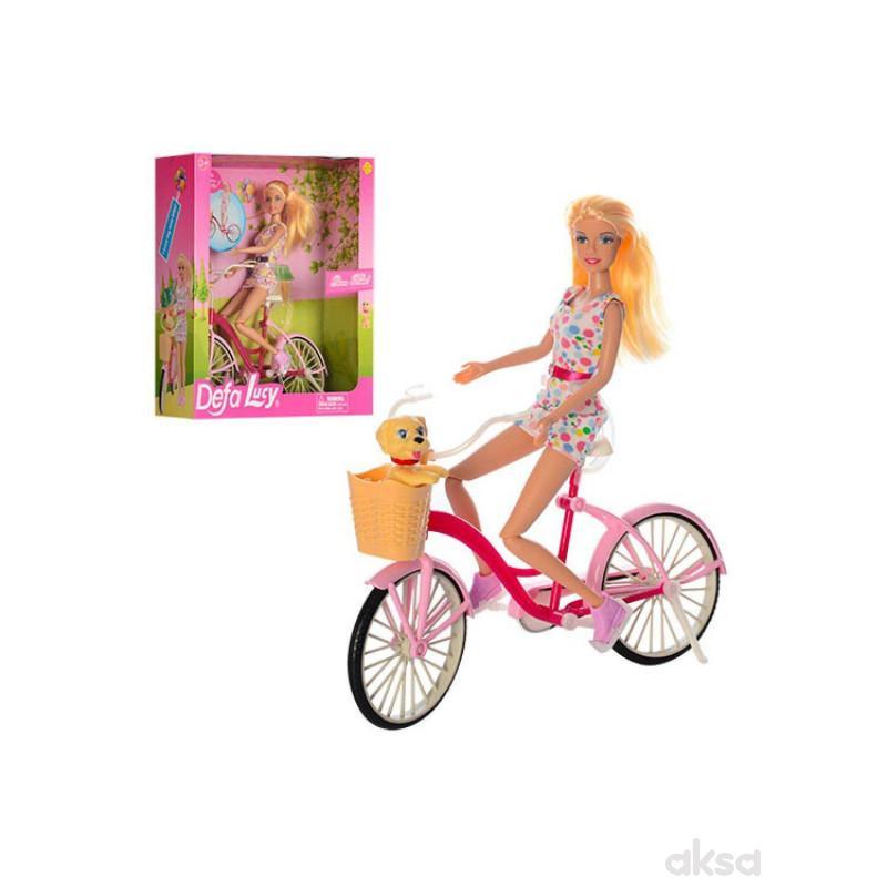 Defa Lutka na biciklu sa ljubimcem