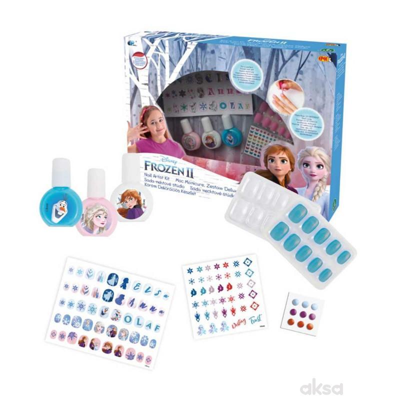 Frozen 2 Set Za Oslikavanje Noktica
