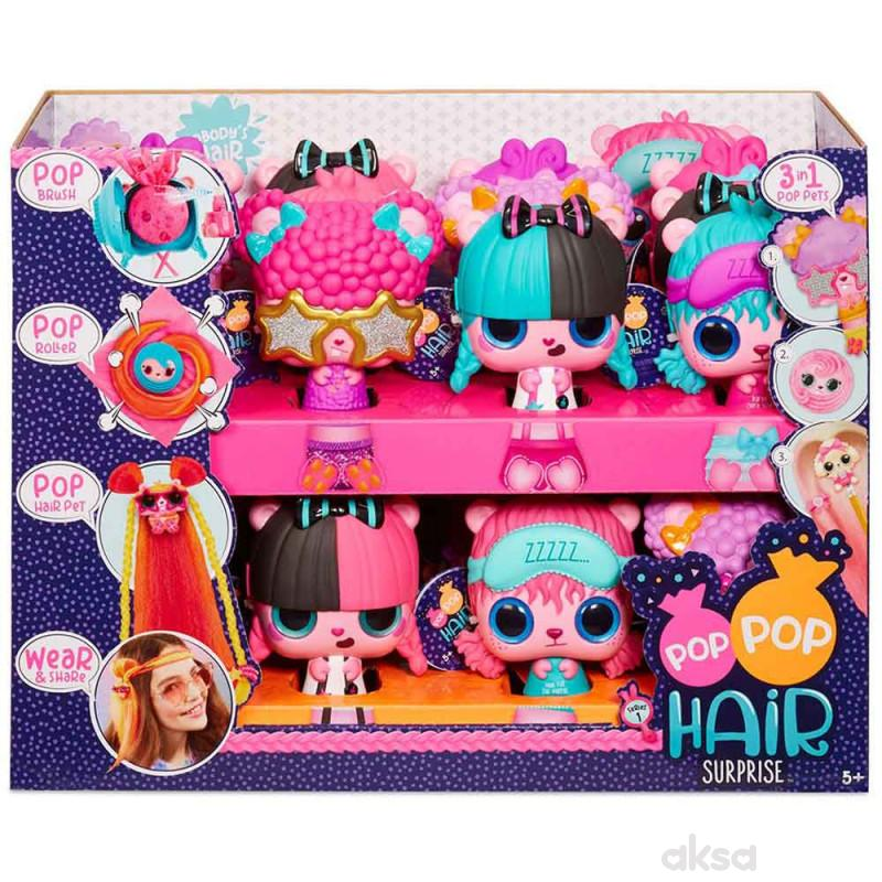 Pop Pop Hair Surprise 3 U 1
